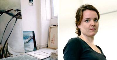 Isabel Kirschner Kunstlerin artist portrait