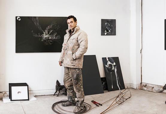 Lionel Sabatté artist peintre