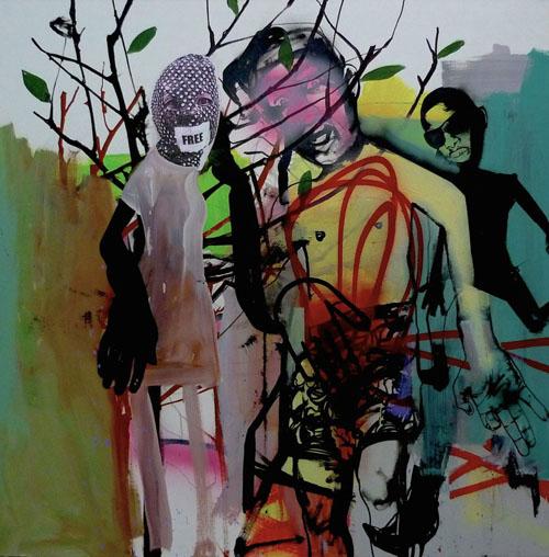 Gwenaël Salaun peinture