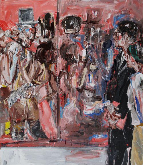 John Copeland painting