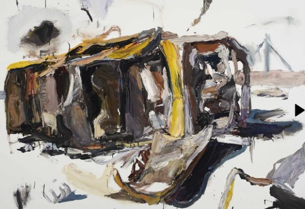 Ben Quilty painting