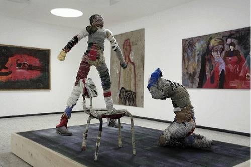 Lutz Braun installation