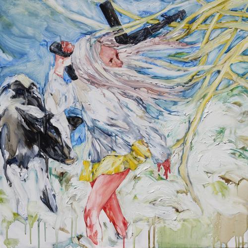 maiko kasai painting