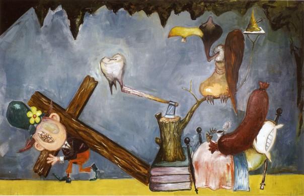 Manuel Ocampo art