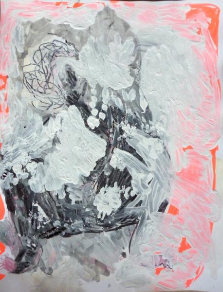 Sacha Eckes painting