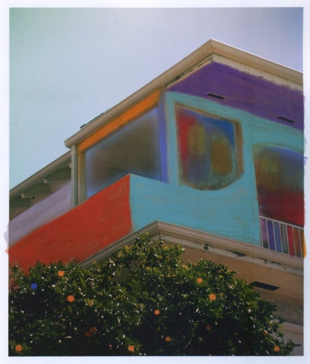Sam Falls painting