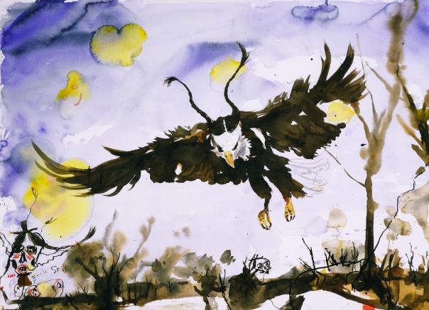 Brad Kahlhamer art