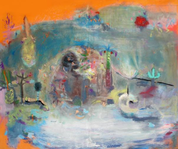 Tamara Schreiberova painting