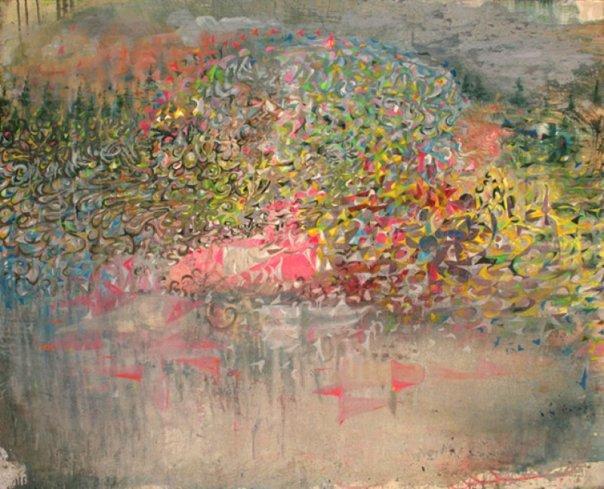 Jorge Adrian Castellanos Velasquez painting