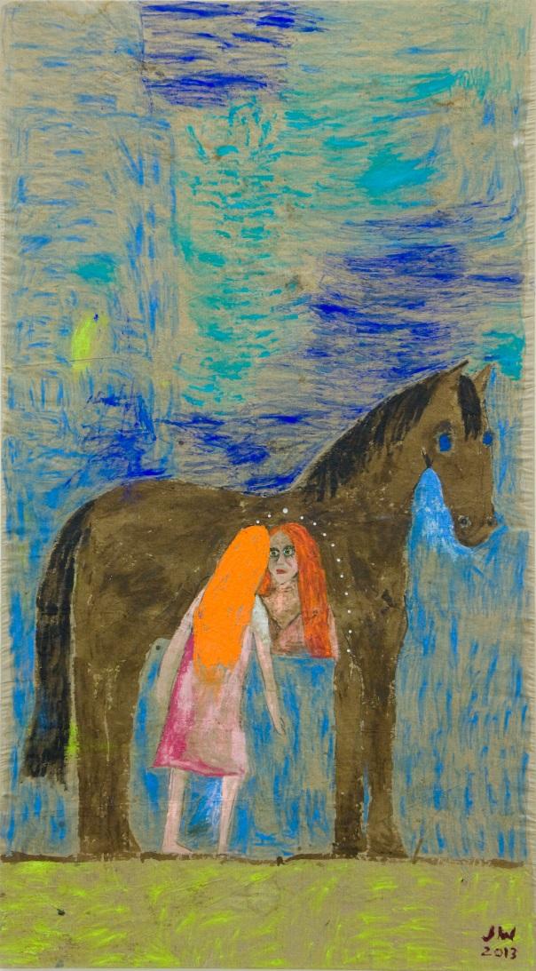 Jenny Watson painting
