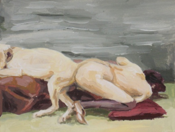 Melissa Steckbauer painting