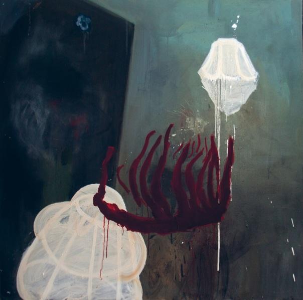 Amina Benbouchta peinture painting Malerei schilderkunst Marocco