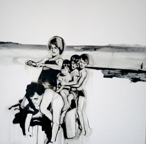 Ilona Szalay peinture contemporaine Libanais Londres