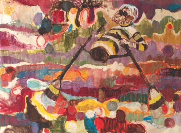 Misheck Masamvu peinture africaine contemporaine