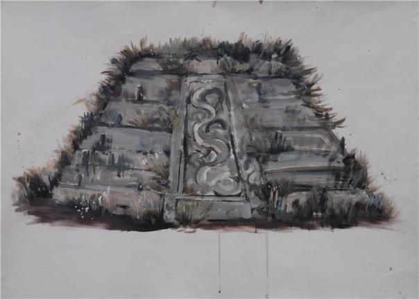 Li Yong 1975 Chinese contemporary painting