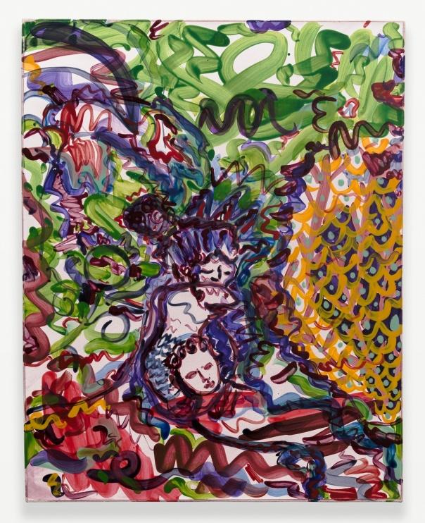 Nicholas Schutzenhofer New Image Painting Show 2014