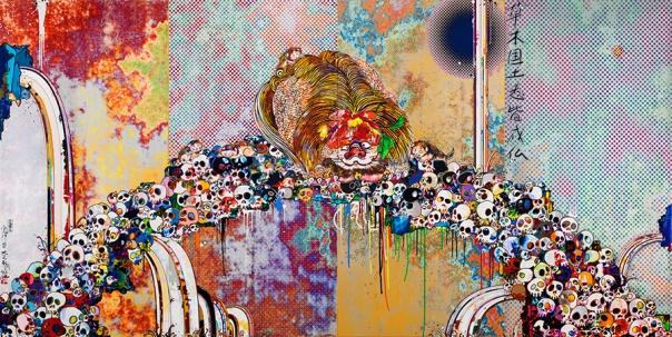 Takashi Murakami art painting