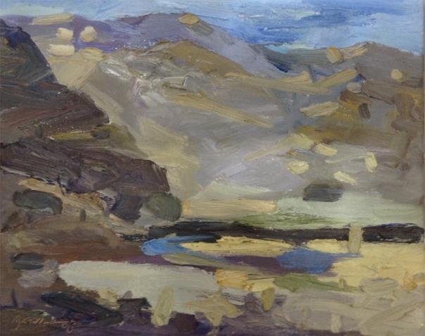 Yuan Zuo painting