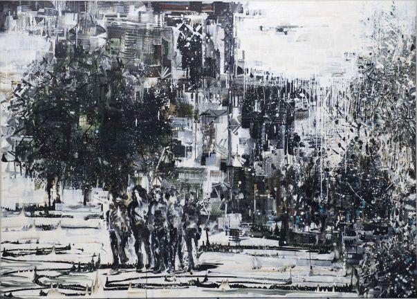 Chiu Chien-Jen contemporary Taiwanese art painting