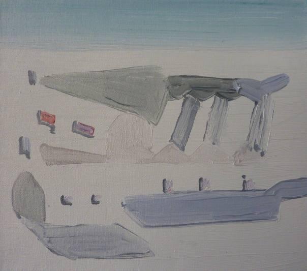 Nicholas Carrick painting
