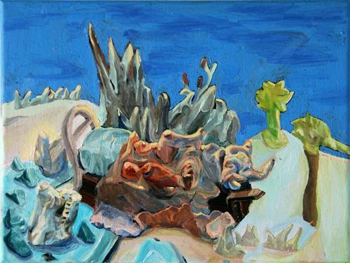 Ali Fitzgerald Malerei