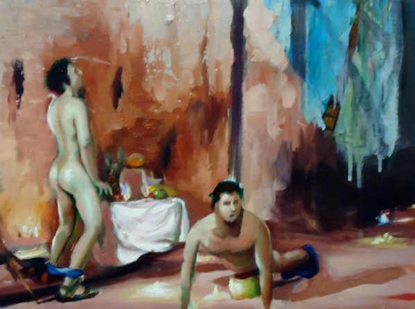 Daniel Lannes painting