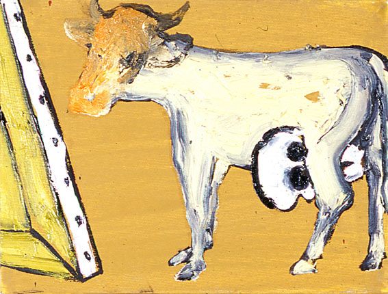 Enzo Cucchi painting pittura 2007