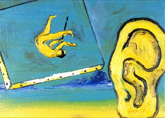Enzo Cucchi peinture 2010