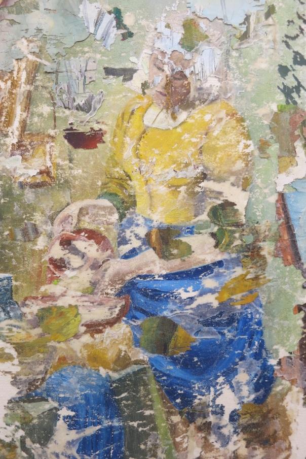 Ermias Kifleyesus peinture painting