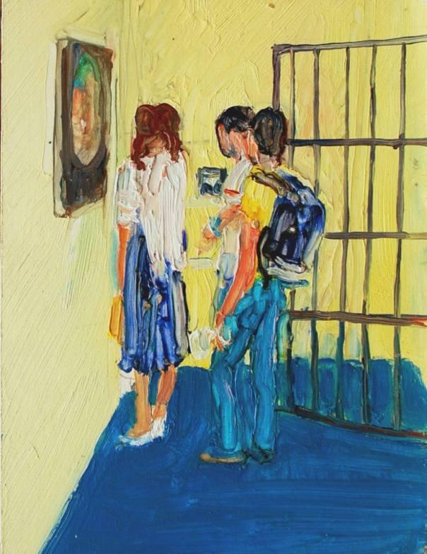Michael Digby Bartlett Malerei peinture painting