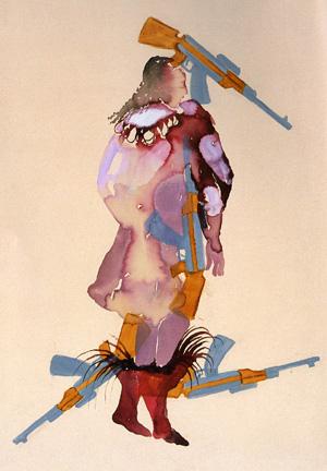 Shahzia Sikander art