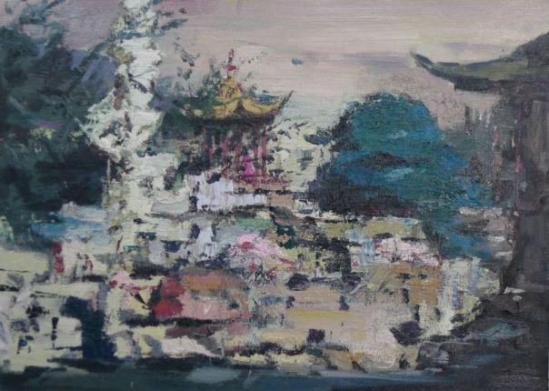 Wu Haizhou peinture Chinois contemporaine