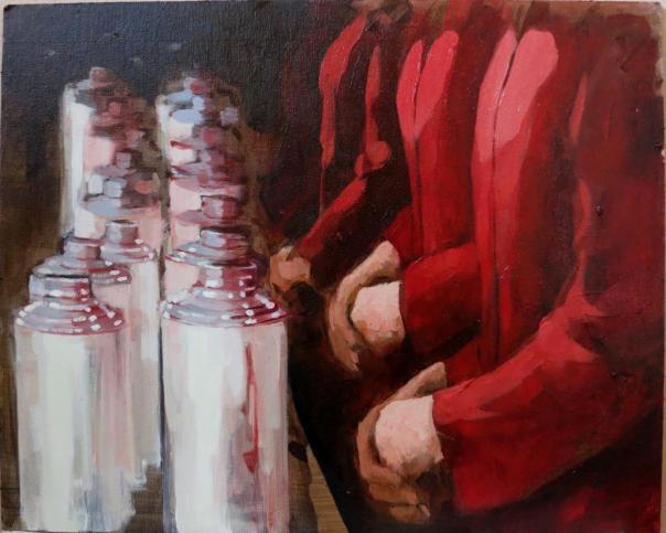 Eugenia Cuéllar art contemporary painting Madrid