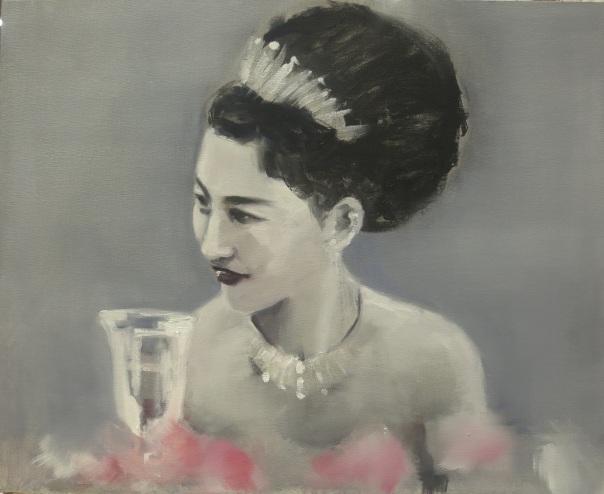 Eugenia Cuéllar Spanish contemporary painting Madrid