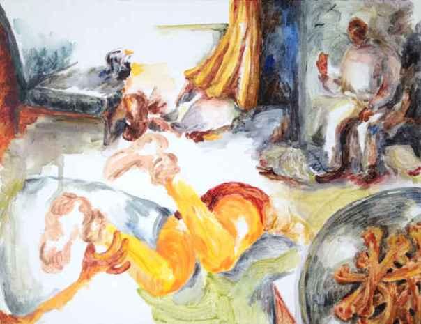 Kaai Tsuji Japanese contemporary painting