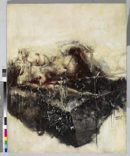 Zhou Chunya 周春芽 art painting