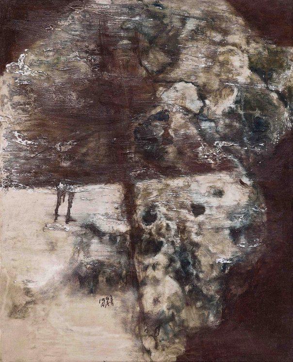 Zhou Chunya 周春芽 Chinese contemporary art