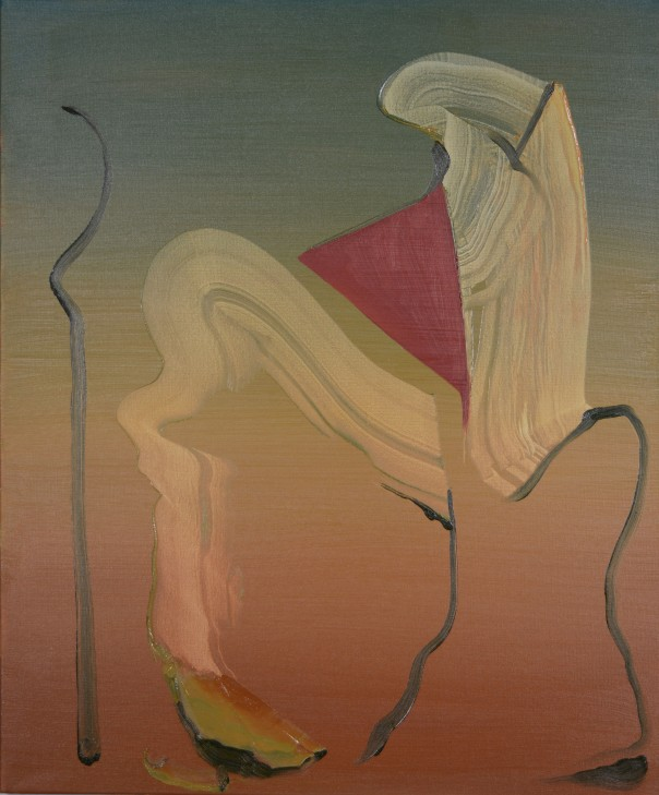 Damien Flood painting