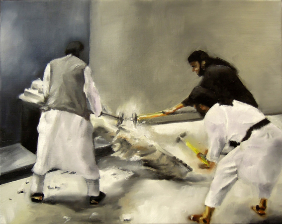 Klaus Schuster malerei Austrian contemporary painting