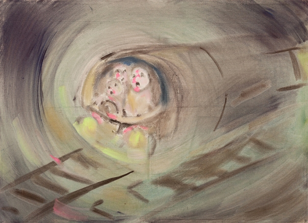 Sophie von Hellermann painting