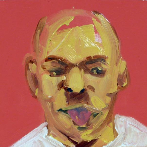 Steve Locke painting