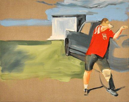 Brenda Draney painting