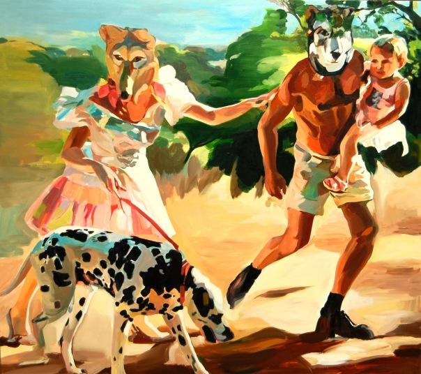 Elinor Evans painting