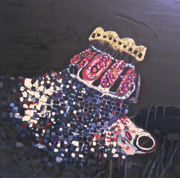 Maia Ibar painting