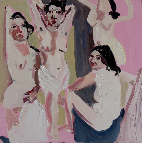 Chantal Joffe art