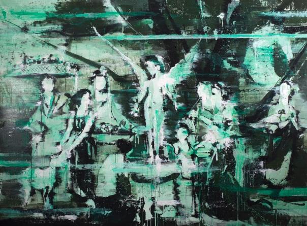 Lars Teichman 2015 Malerei