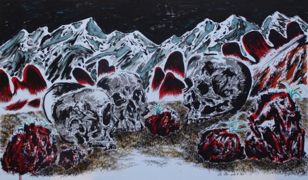 Sun Xun 孙逊 1980 art painting