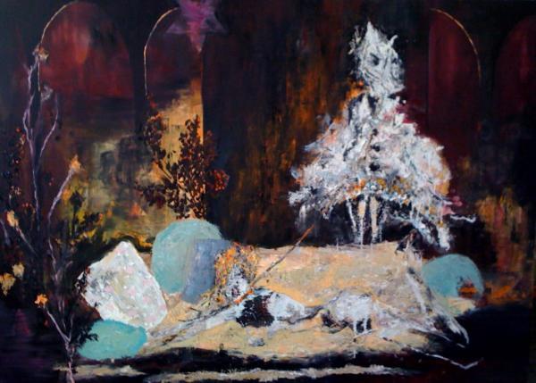 Nicolas Huch art painting Berlin
